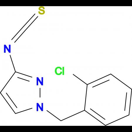 1-(2-Chloro-benzyl)-3-isothiocyanato-1H-pyrazole