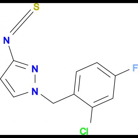 1-(2-Chloro-4-fluoro-benzyl)-3-isothiocyanato-1H-pyrazole