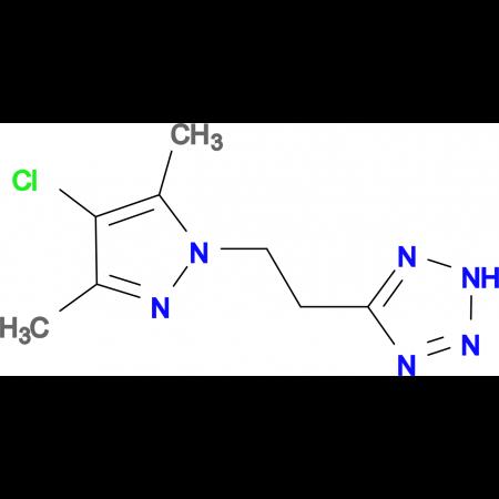 5-[2-(4-Chloro-3,5-dimethyl-pyrazol-1-yl)-ethyl]-2H-tetrazole