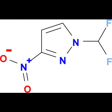 1-Difluoromethyl-3-nitro-1H-pyrazole