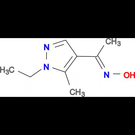 1-(1-Ethyl-5-methyl-1H-pyrazol-4-yl)-ethanoneoxime