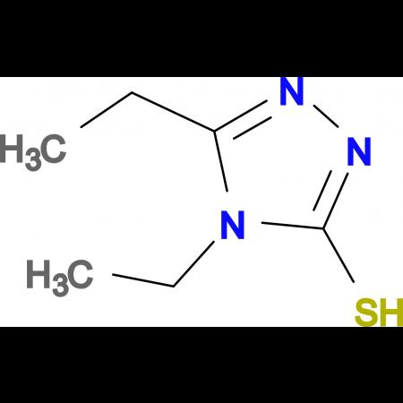 4,5-Diethyl-4H-[1,2,4]triazole-3-thiol