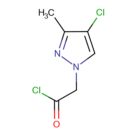 (4-Chloro-3-methyl-pyrazol-1-yl)-acetyl chloride