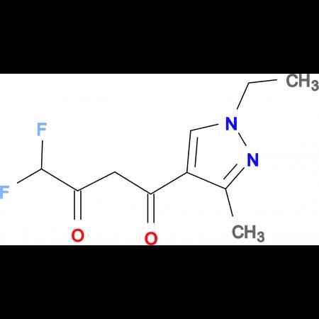 1-(1-Ethyl-3-methyl-1H-pyrazol-4-yl)-4,4-difluoro-butane-1,3-dione