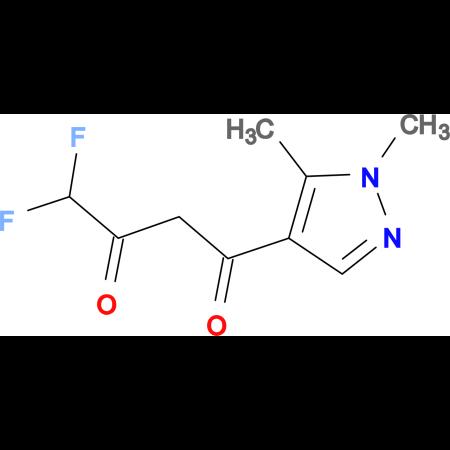 1-(1,5-Dimethyl-1H-pyrazol-4-yl)-4,4-difluoro-butane-1,3-dione
