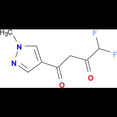 4,4-Difluoro-1-(1-methyl-1H-pyrazol-4-yl)-butane-1,3-dione