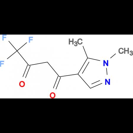 1-(1,5-Dimethyl-1H-pyrazol-4-yl)-4,4,4-trifluoro-butane-1,3-dione