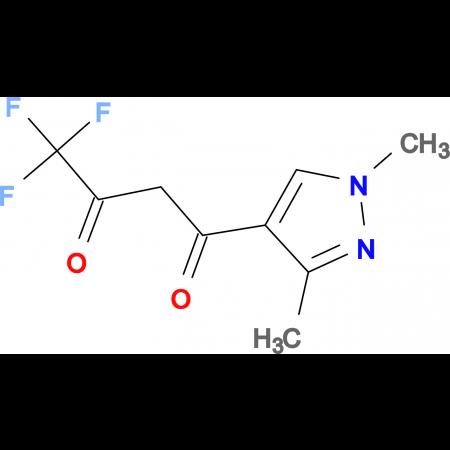 1-(1,3-Dimethyl-1H-pyrazol-4-yl)-4,4,4-trifluoro-butane-1,3-dione