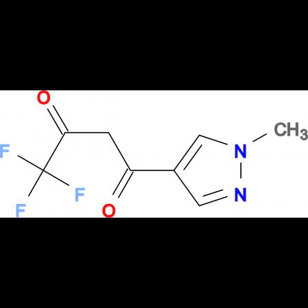 4,4,4-Trifluoro-1-(1-methyl-1H-pyrazol-4-yl)-butane-1,3-dione