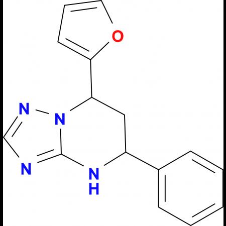 7-Furan-2-yl-5-phenyl-4,5,6,7-tetrahydro-[1,2,4]triazolo[1,5-a]pyrimidine
