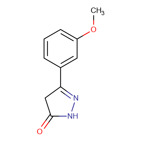 5-(3-Methoxy-phenyl)-2,4-dihydro-pyrazol-3-one