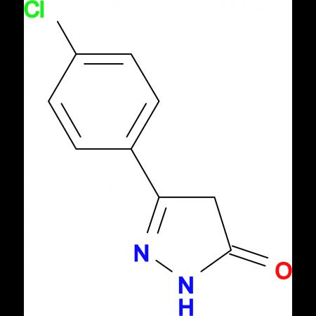 5-(4-Chloro-phenyl)-2,4-dihydro-pyrazol-3-one