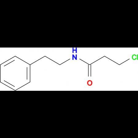 3-Chloro-N-phenethyl-propionamide