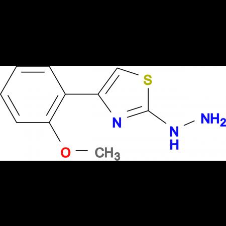 [4-(2-Methoxy-phenyl)-thiazol-2-yl]-hydrazine
