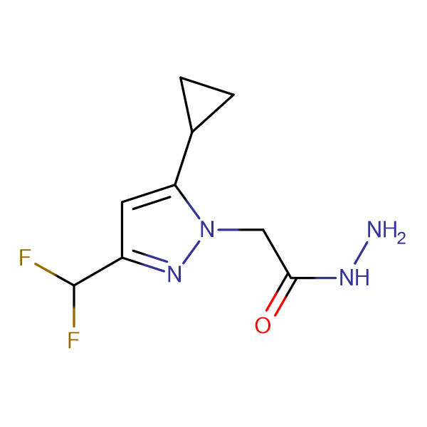(5-Cyclopropyl-3-difluoromethyl-pyrazol-1-yl)-acetic acid hydrazide