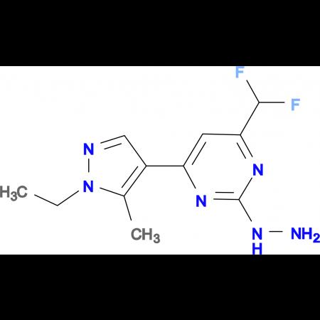 [4-Difluoromethyl-6-(1-ethyl-5-methyl-1 H -pyrazol-4-yl)-pyrimidin-2-yl]-hydrazine
