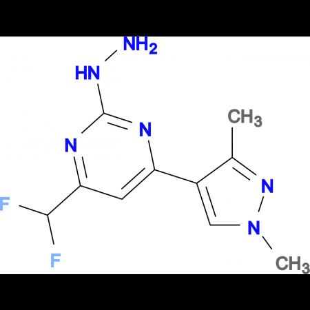 [4-Difluoromethyl-6-(1,3-dimethyl-1 H -pyrazol-4-yl)-pyrimidin-2-yl]-hydrazine