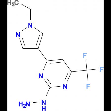 [4-(1-Ethyl-1 H -pyrazol-4-yl)-6-trifluoromethyl-pyrimidin-2-yl]-hydrazine