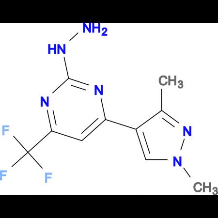 [4-(1,3-Dimethyl-1 H -pyrazol-4-yl)-6-trifluoromethyl-pyrimidin-2-yl]-hydrazine