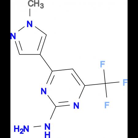 [4-(1-Methyl-1 H -pyrazol-4-yl)-6-trifluoromethyl-pyrimidin-2-yl]-hydrazine