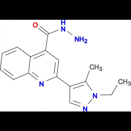 2-(1-Ethyl-5-methyl-1 H -pyrazol-4-yl)-quinoline-4-carboxylic acid hydrazide