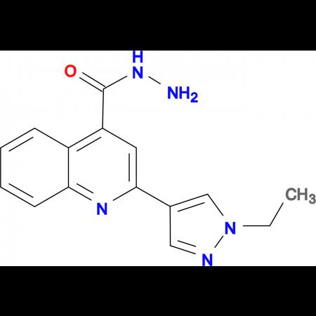 2-(1-Ethyl-1 H -pyrazol-4-yl)-quinoline-4-carboxylic acid hydrazide