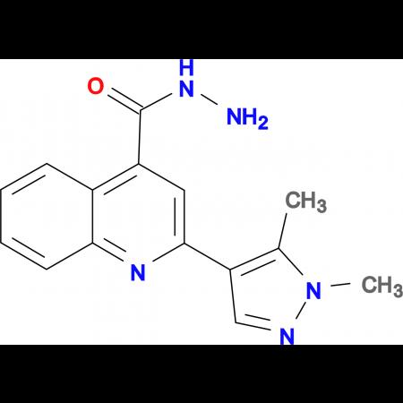 2-(1,5-Dimethyl-1 H -pyrazol-4-yl)-quinoline-4-carboxylic acid hydrazide