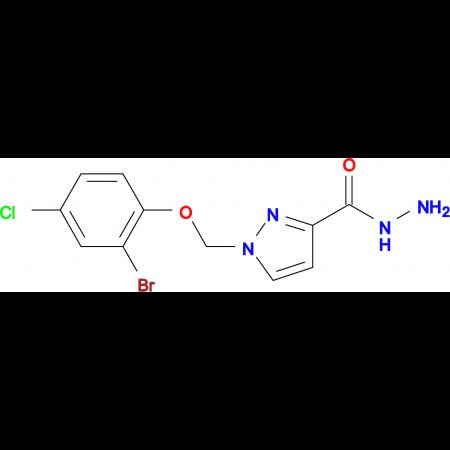 1-(2-Bromo-4-chloro-phenoxymethyl)-1 H -pyrazole-3-carboxylic acid hydrazide