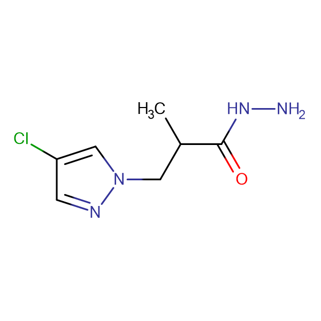 3-(4-Chloro-pyrazol-1-yl)-2-methyl-propionic acidhydrazide