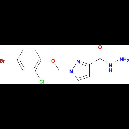 1-(4-Bromo-2-chloro-phenoxymethyl)-1 H -pyrazole-3-carboxylic acid hydrazide