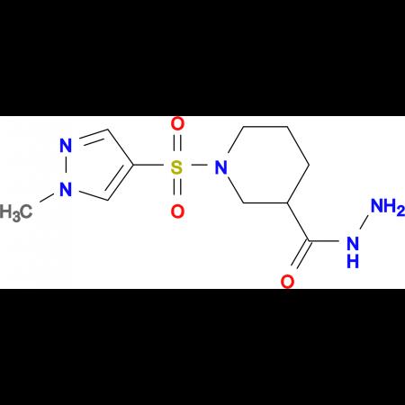 1-(1-Methyl-1 H -pyrazole-4-sulfonyl)-piperidine-3-carboxylic acid hydrazide
