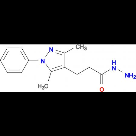 3-(3,5-Dimethyl-1-phenyl-1 H -pyrazol-4-yl)-propionic acid hydrazide