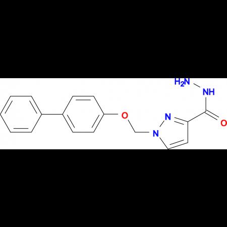 1-(Biphenyl-4-yloxymethyl)-1 H -pyrazole-3-carboxylic acid hydrazide
