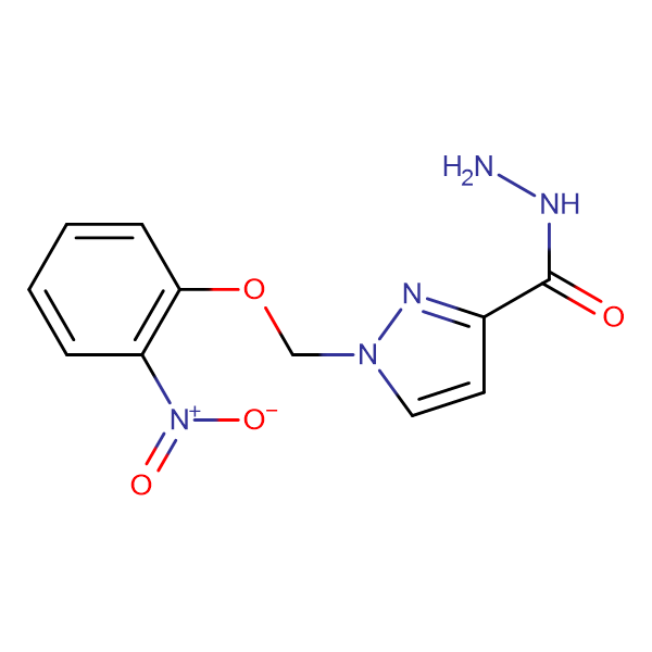 1-(2-Nitro-phenoxymethyl)-1 H -pyrazole-3-carboxylic acid hydrazide