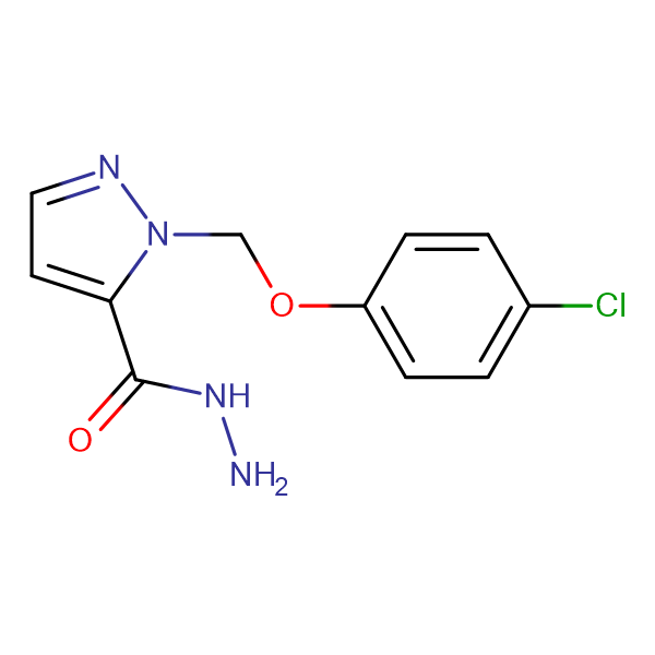 2-(4-Chloro-phenoxymethyl)-2 H -pyrazole-3-carboxylic acid hydrazide