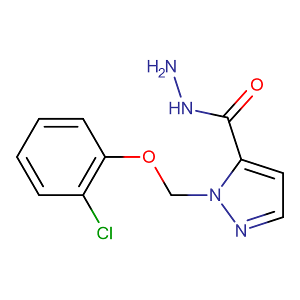 2-(2-Chloro-phenoxymethyl)-2 H -pyrazole-3-carboxylic acid hydrazide