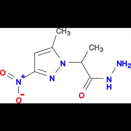 2-(5-Methyl-3-nitro-pyrazol-1-yl)-propionic acid hydrazide