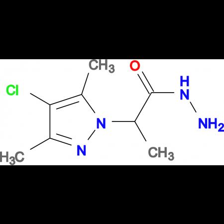 2-(4-Chloro-3,5-dimethyl-pyrazol-1-yl)-propionic acid hydrazide