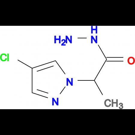 2-(4-Chloro-pyrazol-1-yl)-propionic acid hydrazide