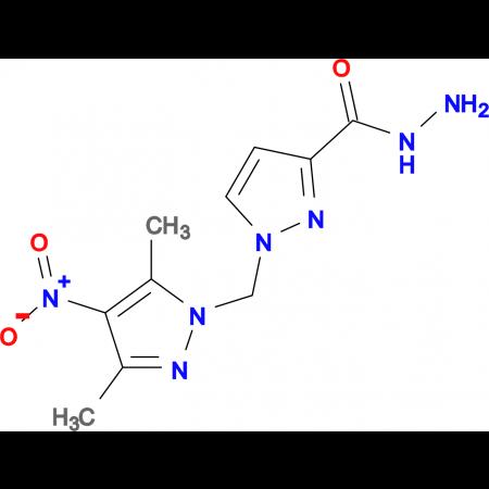 1-(3,5-Dimethyl-4-nitro-pyrazol-1-ylmethyl)-1 H -pyrazole-3-carboxylic acid hydrazide