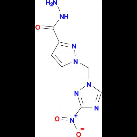 1-(3-Nitro-[1,2,4]triazol-1-ylmethyl)-1 H -pyrazole-3-carboxylic acid hydrazide