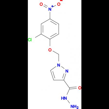 1-(2-Chloro-4-nitro-phenoxymethyl)-1 H -pyrazole-3-carboxylic acid hydrazide