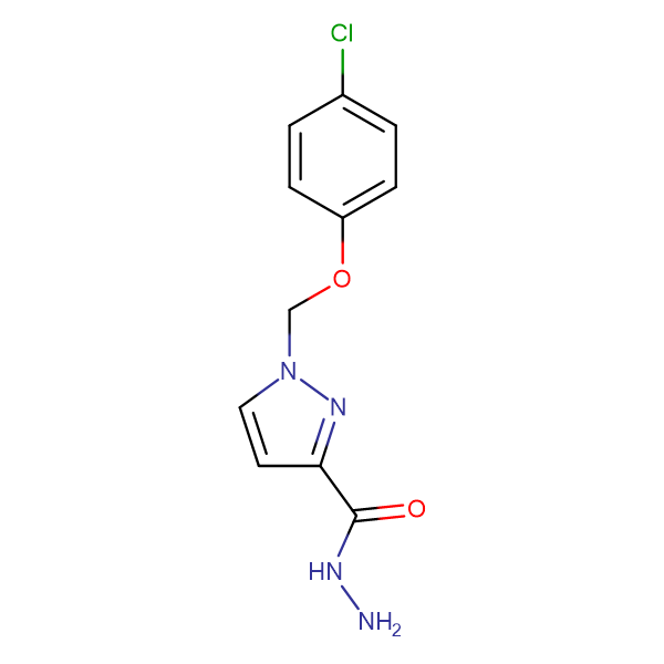 1-(4-Chloro-phenoxymethyl)-1 H -pyrazole-3-carboxylic acid hydrazide