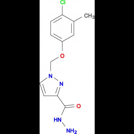 1-(4-Chloro-3-methyl-phenoxymethyl)-1 H -pyrazole-3-carboxylic acid hydrazide