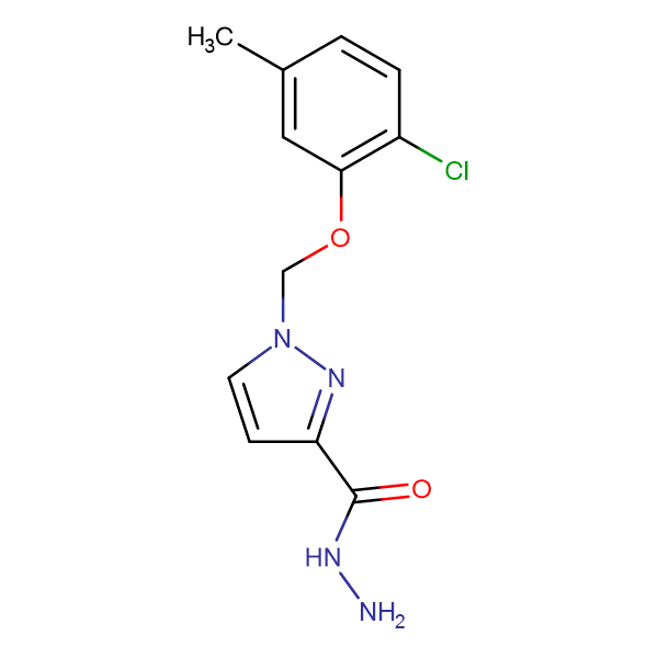 1-(2-Chloro-5-methyl-phenoxymethyl)-1 H -pyrazole-3-carboxylic acid hydrazide
