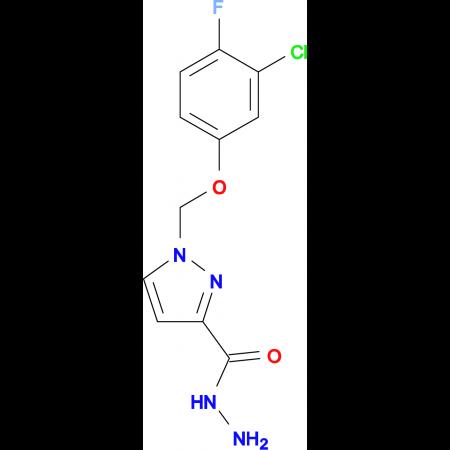 1-(3-Chloro-4-fluoro-phenoxymethyl)-1 H -pyrazole-3-carboxylic acid hydrazide