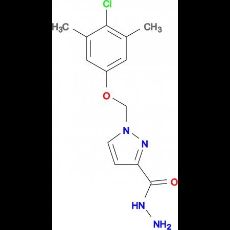 1-(4-Chloro-3,5-dimethyl-phenoxymethyl)-1 H -pyrazole-3-carboxylic acid hydrazide