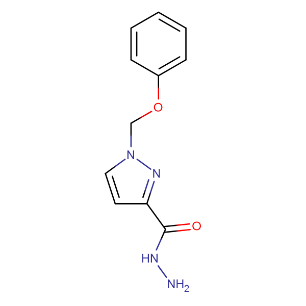 1-Phenoxymethyl-1 H -pyrazole-3-carboxylic acid hydrazide