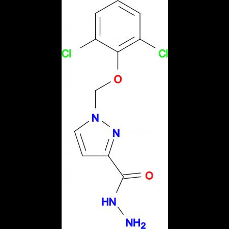 1-(2,6-Dichloro-phenoxymethyl)-1 H -pyrazole-3-carboxylic acid hydrazide