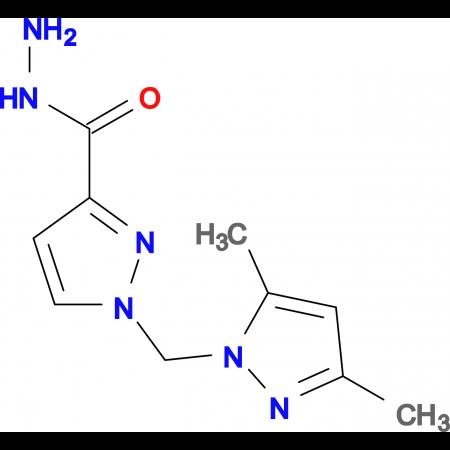 1-(3,5-Dimethyl-pyrazol-1-ylmethyl)-1 H -pyrazole-3-carboxylic acid hydrazide
